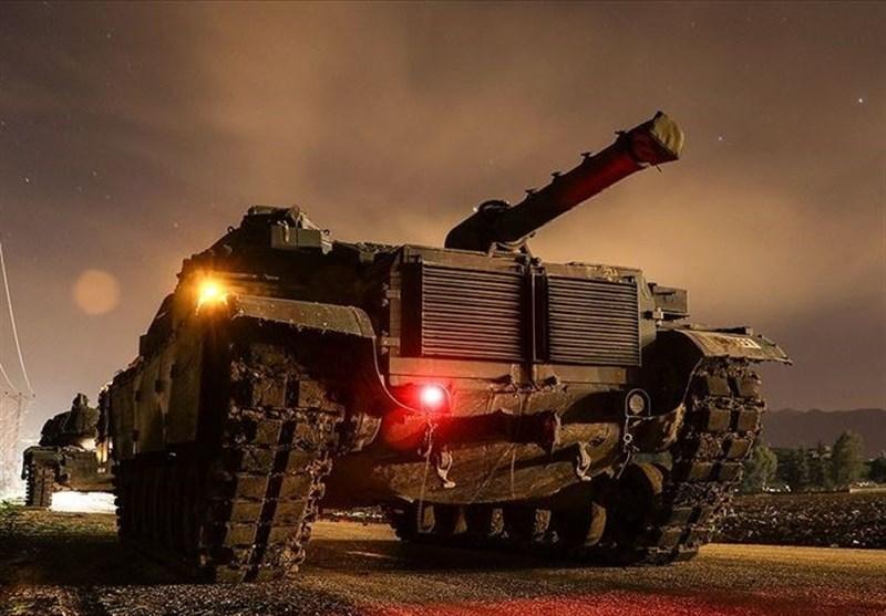 حملات شدید ارتش ترکیه به رأس العین در سوریه