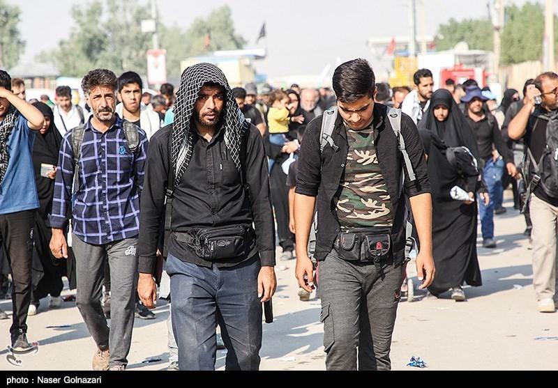 آخرین اخبار از مرز مهران| آغاز موج بازگشت زائران اربعین/ آمادهباش نیروهای لشکری و کشوری در مرز / گیتهای غربالگری کرونا فعال شد