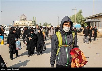 آخرین اخبار از مرز مهران| آغاز موج بازگشت زائران اربعین / آمادهباش نیروهای لشکری و کشوری در مرز / گیتهای غربالگری کرونا فعال شد