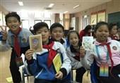 آموزش زبان فارسی به کودکان در شانگهای چین+ عکس و فیلم