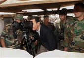 Syrian President Visits Army Troops in Idlib Front Line (+Photos)