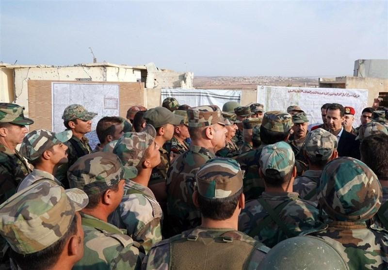 اسد در ادلب