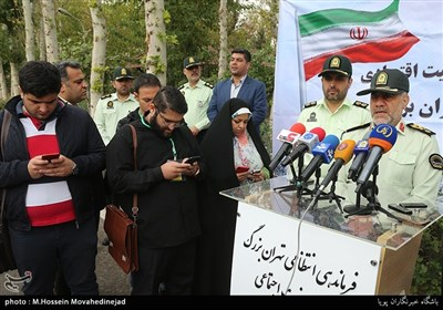 سردار رحیمی رئیس پلیس پایتخت