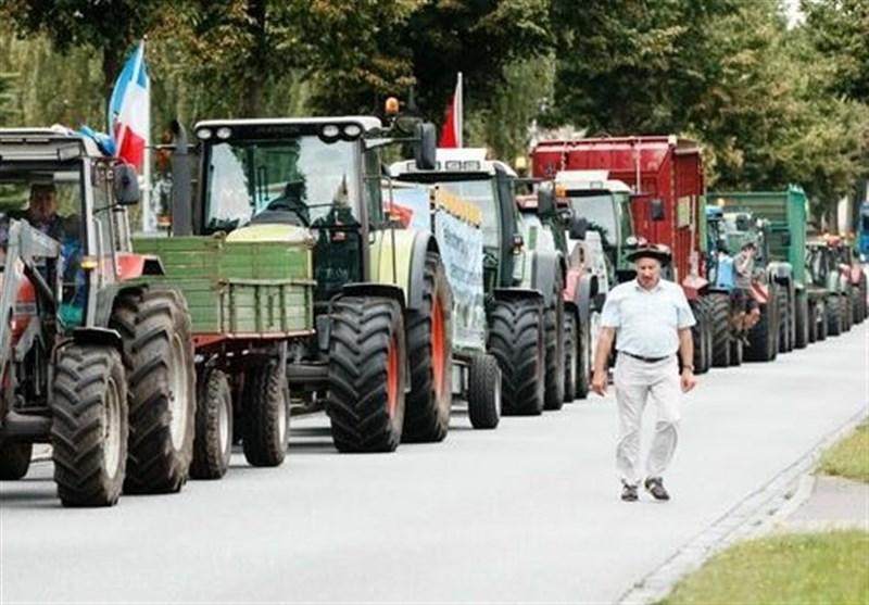 اعتراضات گسترده کشاورزان آلمانی علیه سیاستهای دولت