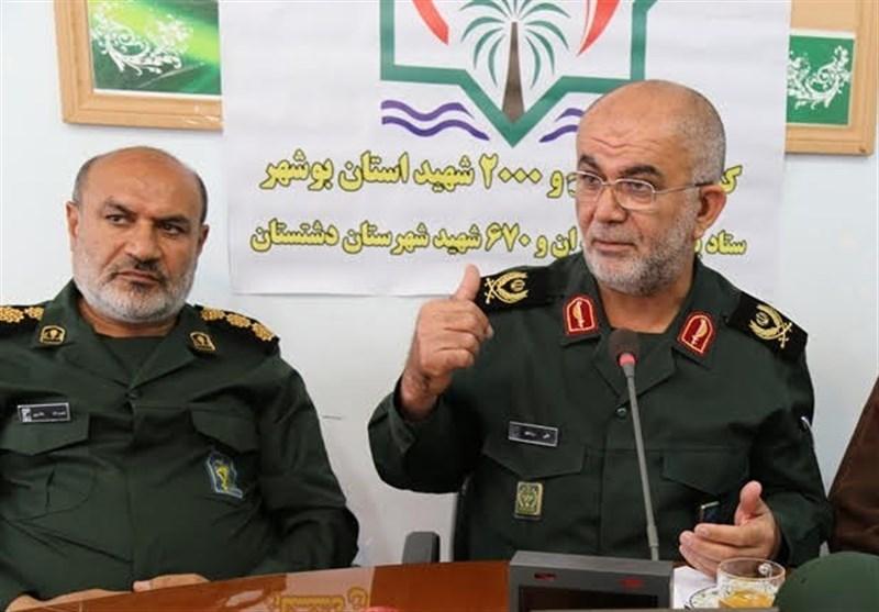 بوشهر| رمز موفقیت انقلاب در مقیاس جهانی ایثار و شهادت است