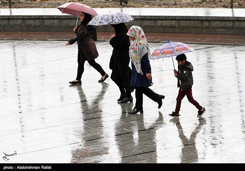 کدام استانها رکورددار بیشترین بارش در 24 ساعت گذشته هستند؟ + جدول