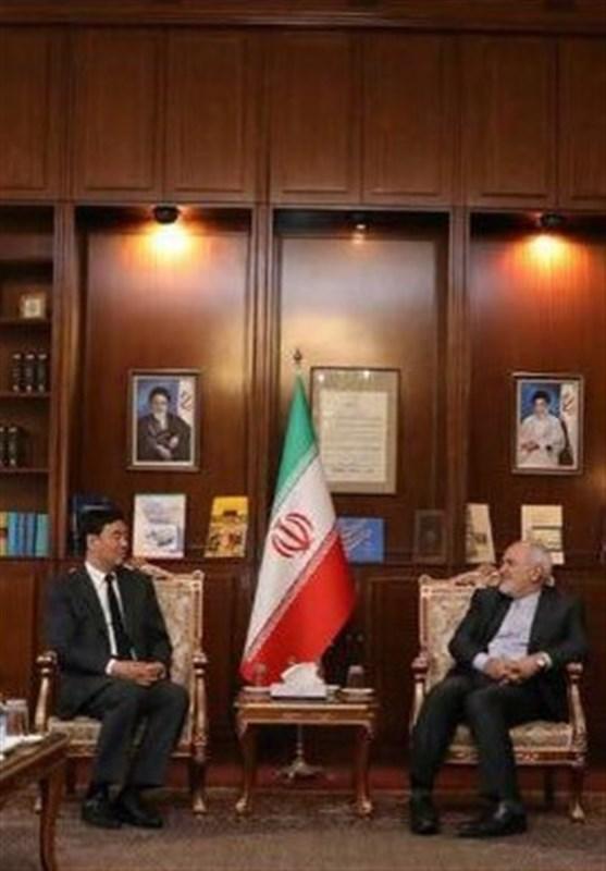 دیدار فرستاده ویژه چین در امور خاورمیانه با ظریف