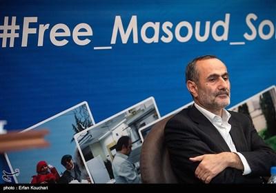 یعقوب فتح اللهی معاون پژوهش فناوری دانشگاه تربیت مدرس در نشست خبری بررسی وضعیت دانشمند بازداشتی ایرانی در زندان آمریکا