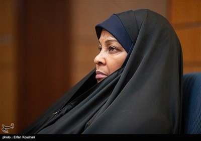 مرضیه هاشمی مجری آمریکایی الاصل شبکه پرس تی وی در نشست خبری بررسی وضعیت دانشمند بازداشتی ایرانی در زندان آمریکا. وی نیز چندی پیش در مراجعت به آمریکا به صورت غیر قانونی بازداشت شده بود.