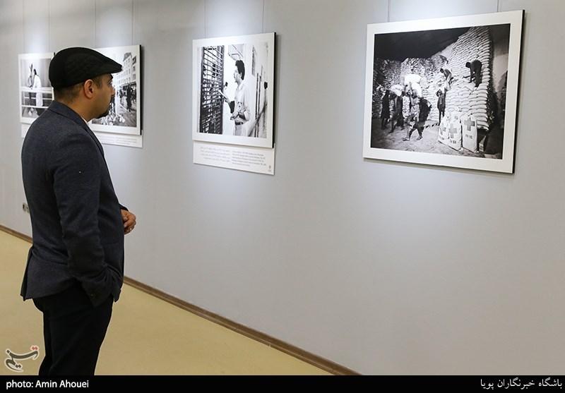 افتتاحیه نمایشگاه عکس ۷۰ سالگی تصویب کنوانسیون های ژنو