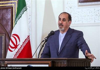سخنرانی حسن بلخاری، رئیس انجمن آثار و مفاخر فرهنگی ایران