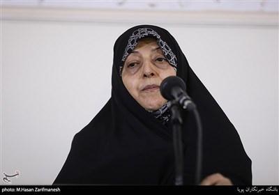 سخنرانی معصومه ابتکار درمراسم بزرگداشت طاهره صفارزاده