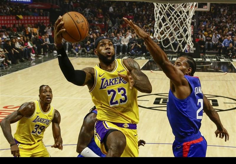 لیگ NBA| پنجمین پیروزی متوالی لیکرز/ شکست سنگین راکتس در میامی