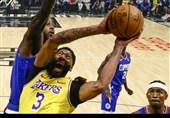 لیگ NBA| پیروزی لیکرز با درخشش دیویس/ هاردن در اورلاندو تشویق شد