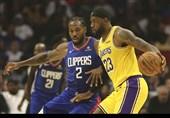لیگ NBA| پیروزی نزدیک یاران جیمز مقابل کلیپرز/ جز از سد پلیکانز گذشت