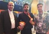 خورشیدی: خوشحالم با استعانت از امام رضا (ع) هشتمین مدال طلای ساندا را کسب کردم