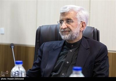 سعید جلیلی نماینده رهبری در شورای امنیت ملی در جلسه مجمع تشخیص مصلحت نظام