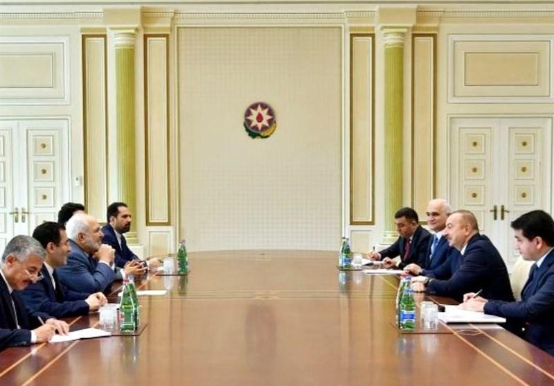 دیدار ظریف با رئیسجمهور آذربایجان در حاشیه نشست جنبش عدم تعهد