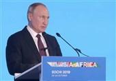 پوتین: روسیه به کشورهای آفریقایی در مبارزه با تروریسم کمک میکند