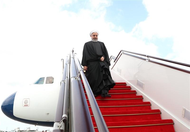 رئیسجمهور وارد کرمان شد