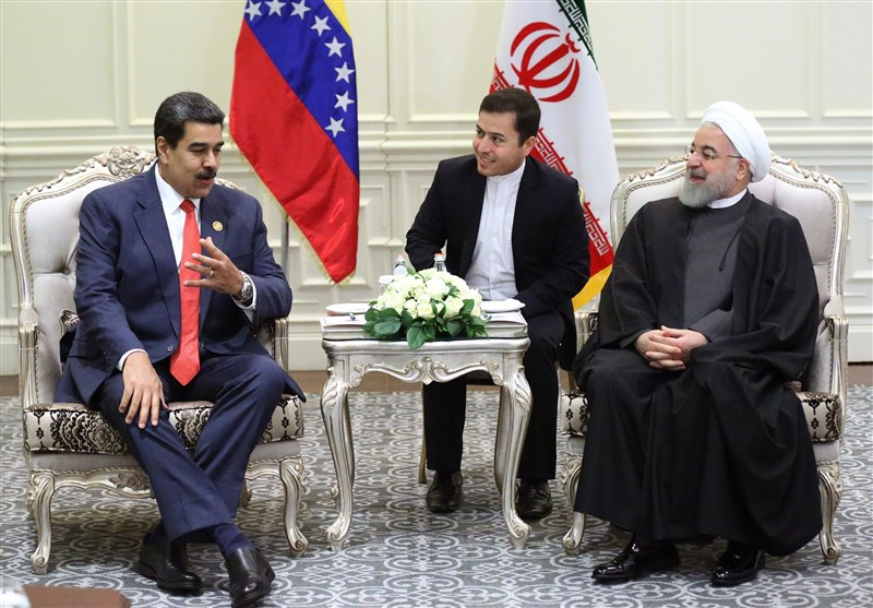 Rouhani Lauds Resistance of Iran, Venezuela against US Plots