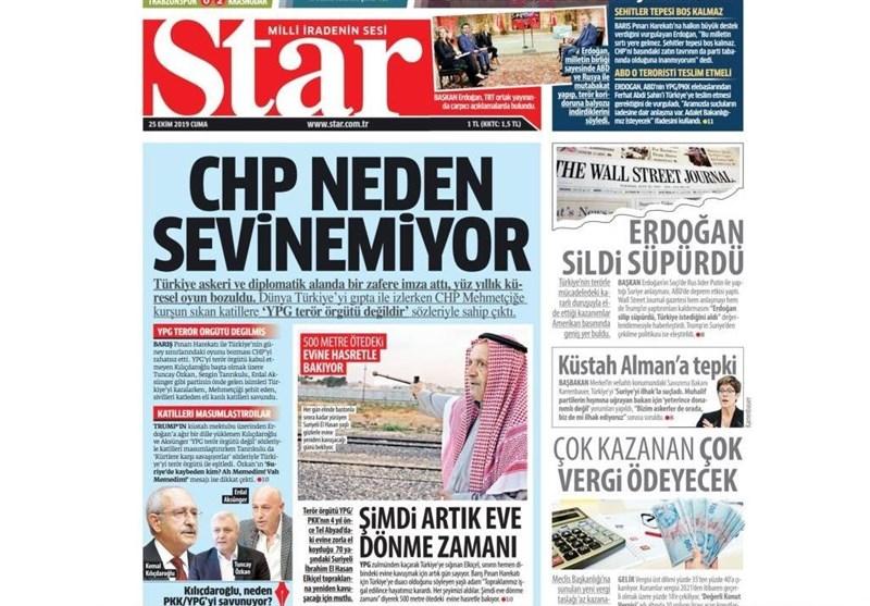 آخرین تحولات سوریه , کشور ترکیه ,