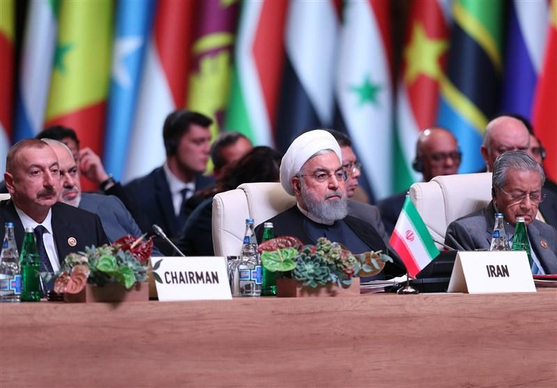 روحانی در اجلاس عدم تعهد: استفاده آمریکا از ابزارهای اقتصادی یک تروریسم اقتصادی است