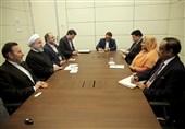 روحانی در دیدار نخستوزیر بنگلادش: ایران آماده کمک به مشکل آوارگان روهینگیایی است