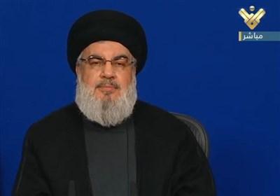 سید حسن نصرالله: حزب الله مدافع منافع ملت لبنان است/آمریکاییها وقیحانه در لبنان دخالت میکنند