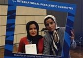 اهدای نشان شجاعت کمیته بینالمللی پارالمپیک به الهه قلیفلاح