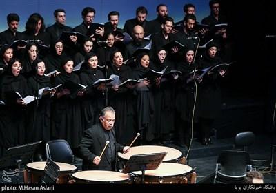اجرای سمفونی« آب تشنه» توسط ارکستر ملی ایران