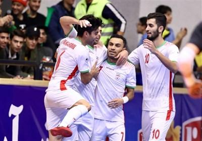 تیم ملی ایران نامزد بهترین تیم فوتسال جهان در سال ۲۰۱۹