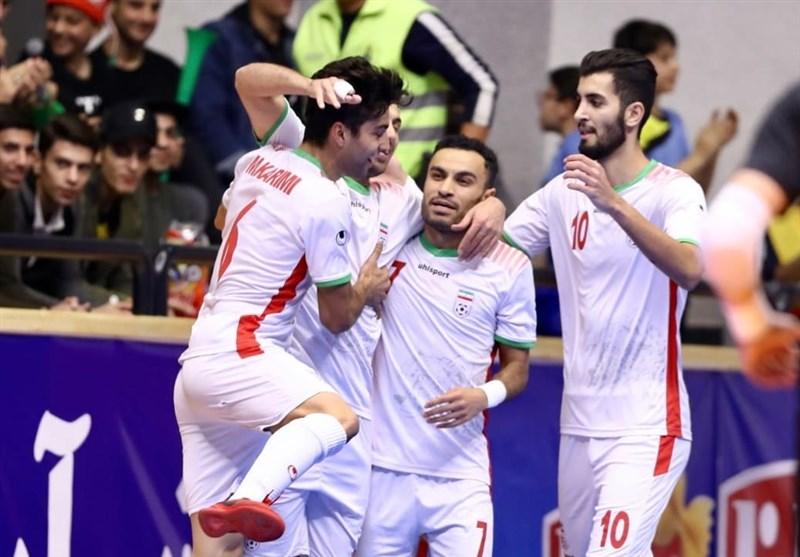 Iran Unchanged at Futsal World Ranking