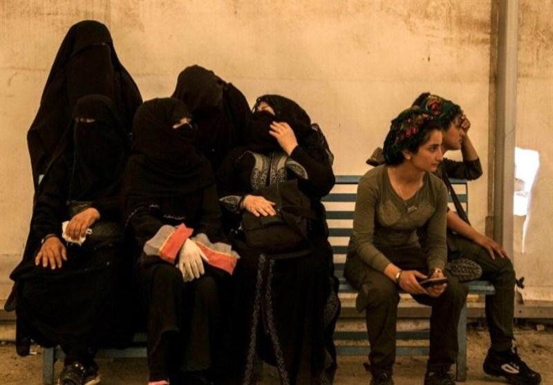 گزارش  زنان و کودکان داعشی در میانه راه بازگشت به وطن