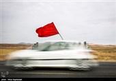 پیاده روی زائران حرم مطهر امام رضا(ع) به سمت مشهد