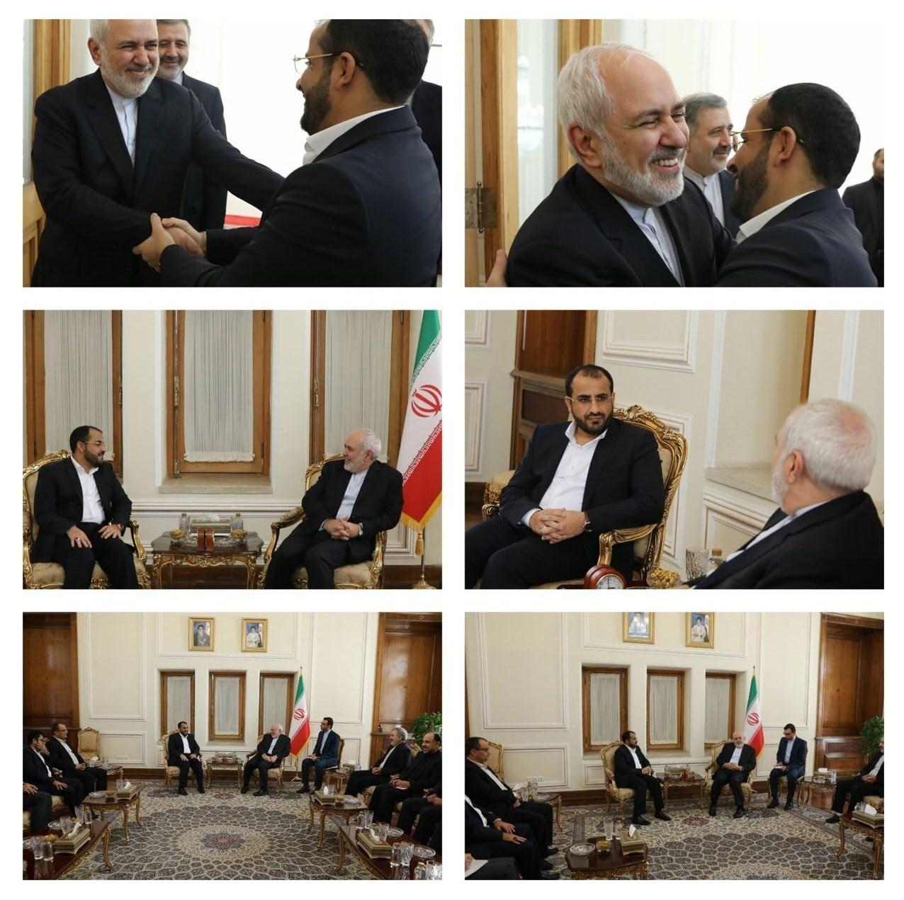محمدجواد ظریف , جنبش انصارالله یمن ,