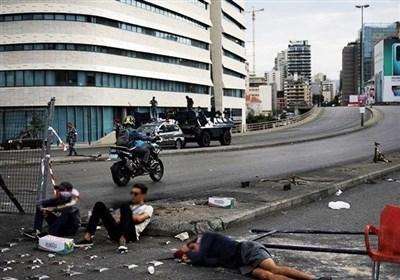 منابع مالی خطرناک تحرکات در لبنان / حمایت مالی امارات و عربستان برای سوء استفاده از اعتراضات+تصاویر