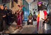 مراسم تعزیه خوانی در بازار تاریخی وکیل الدوله-کرمانشاه