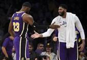 لیگ NBA| شکست میلیمتری قهرمان در خانه/ لیکرز از سد دالاس گذشت