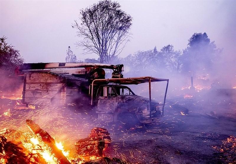 اعلام وضعیت فوقالعاده در سراسر کالیفرنیا؛ آتش صدها هزار نفر را فراری داد