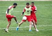 تمرینات اختصاصی کامیابینیا و عبدی و حضور 3 بازیکن جدید در جمع سرخپوشان