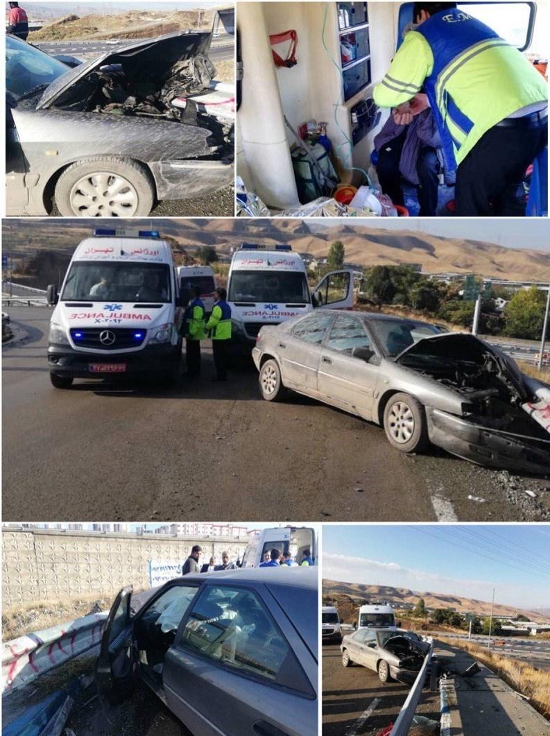 وزارت بهداشت، درمان و آموزش پزشکی جمهوری اسلامی ایران , حوادث جادهای ,