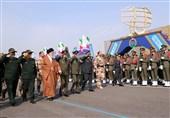 حضور امام خامنهای در مراسم دانشآموختگی دانشجویان دانشگاههای افسری ارتش
