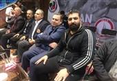 حضور سرمربی تیم ملی بوکس در سوپر لیگ کاراته + عکس