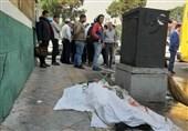 یک کشته و 4 مصدوم بر اثر تصادف اتوبوس با عابرانپیاده در بزرگراه بعثت