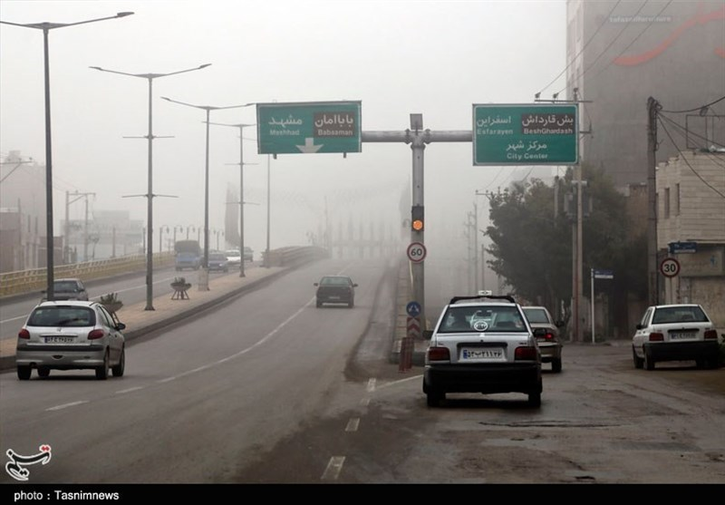 تردد روان در محورهای شمالی/مهگرفتگی در جادههای 5 استان