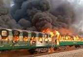 استفاده از کتری برقی عامل اصلی آتش گرفتن قطار پاکستانی