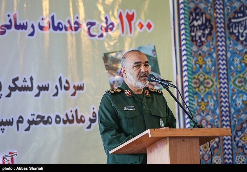 پروژههای متعددی در سفر سردار سلامی به استان البرز افتتاح شد + فیلم