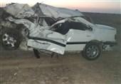 تصادف در محور ساحلی بوشهر به گناوه 2 کشته و 4 مصدوم برجای گذاشت