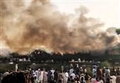علت آتش سوزی قطار مسافربری پاکستانی مشخص شد